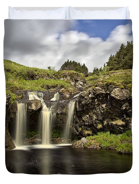 Glen Brittle Duvet Cover by David Pringle