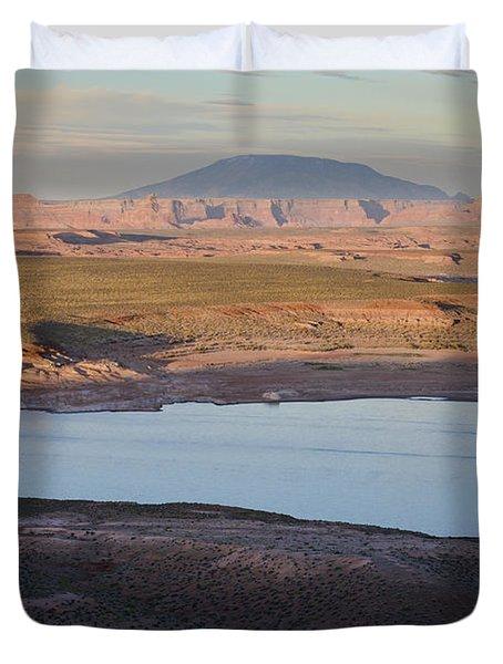 Glen Canyon and Navajo Mountain Duvet Cover by David Gordon