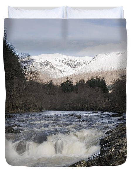 Glen Orchy Scotland Duvet Cover by Pat Speirs