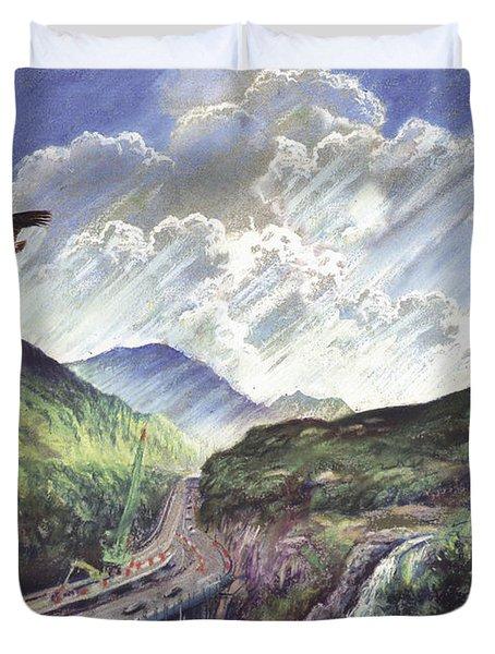 Glencoe Duvet Cover by Steve Crisp