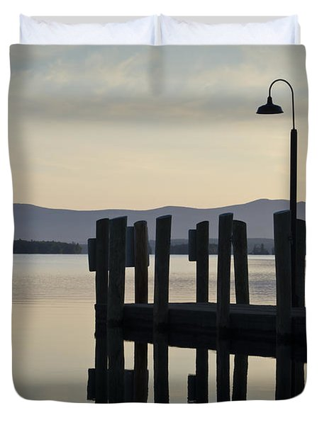 Glendale Docks No. 2 Duvet Cover by David Gordon
