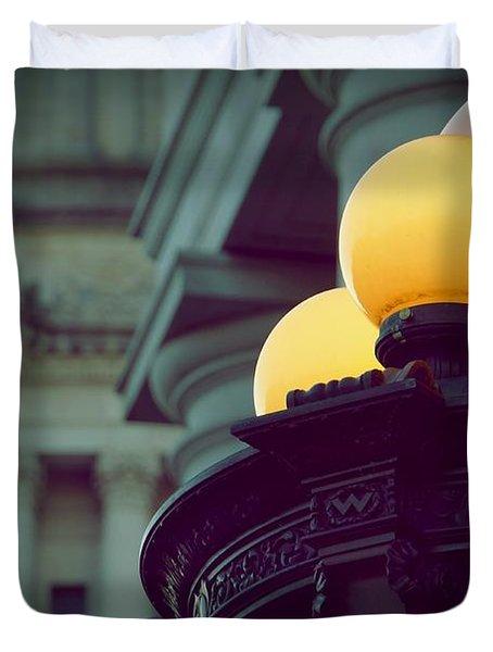 Global Lighting Duvet Cover by Patricia Strand