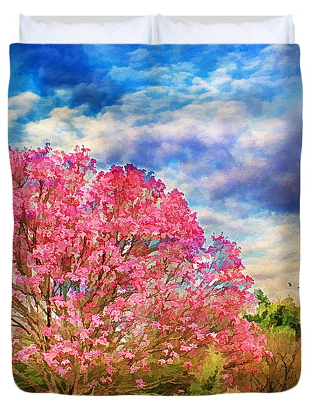 Glorious Spring Duvet Cover by Darren Fisher