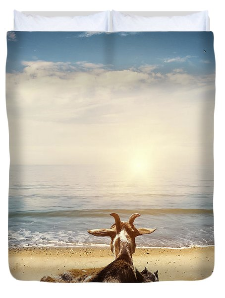 Remember This Day Duvet Cover by Wim Lanclus