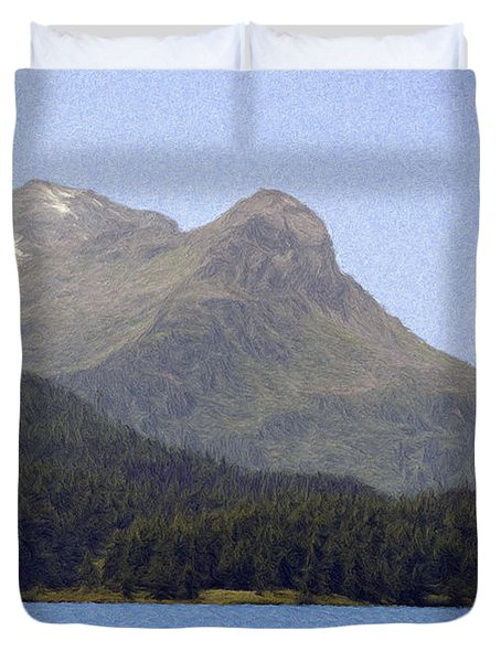 Going Where The Wind Blows Duvet Cover by Jeff Kolker