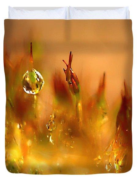 Golden Palette Duvet Cover by Annie  Snel