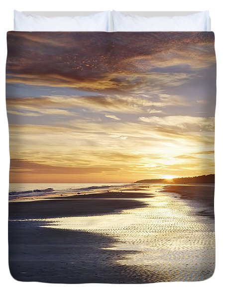 Golden Sands Duvet Cover by Phill Doherty