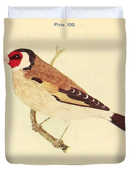 Goldfinch Duvet Cover by Philip Ralley