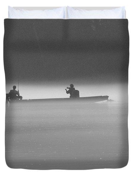 Gone Fishing Duvet Cover by Mike McGlothlen