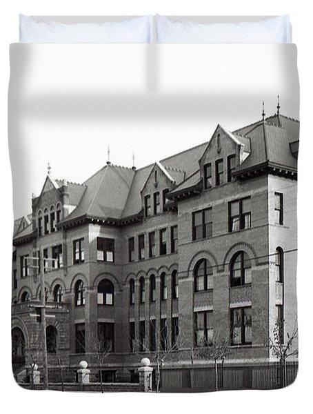 Gonzaga College Spokane 1900 Duvet Cover by Daniel Hagerman