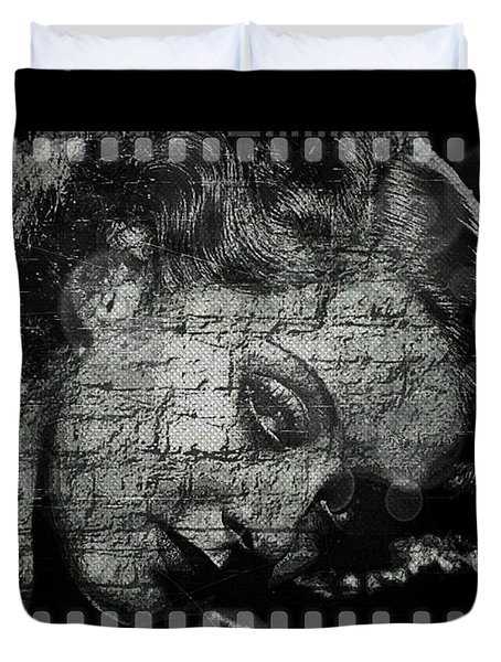 Goodbye Classic America Duvet Cover by Absinthe Art By Michelle LeAnn Scott