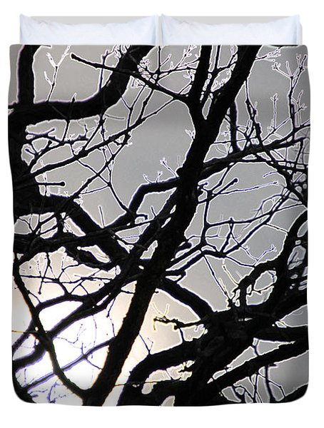 Goth Tree Duvet Cover by First Star Art
