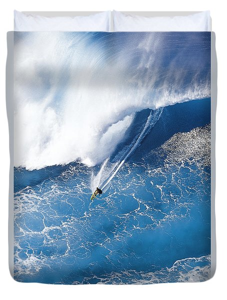 Grace Under Pressure Duvet Cover by Sean Davey
