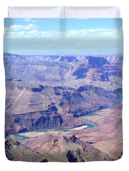 Grand Canyon 64 Duvet Cover by Will Borden