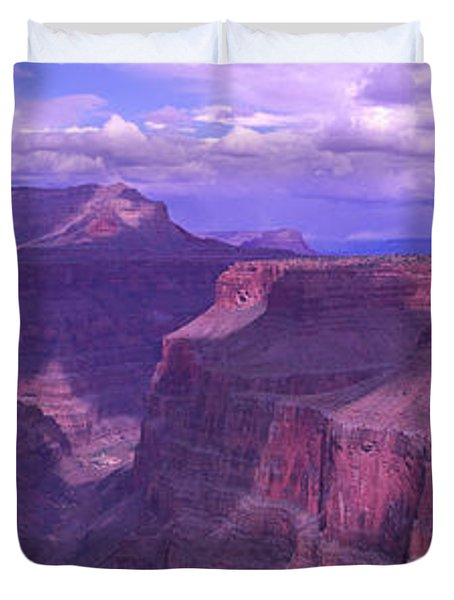 Grand Canyon, Arizona, Usa Duvet Cover by Panoramic Images