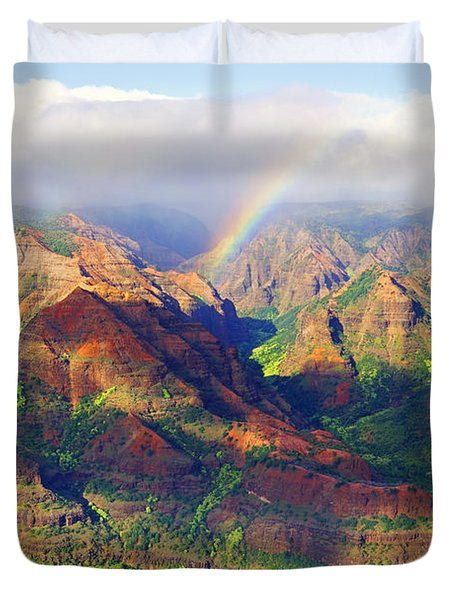 Grand Canyon Of The Pacific Duvet Cover by Kevin Smith