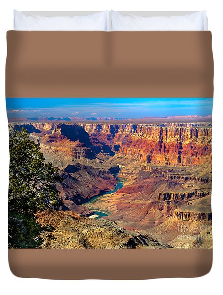 Grand Canyon Sunset Duvet Cover by Robert Bales
