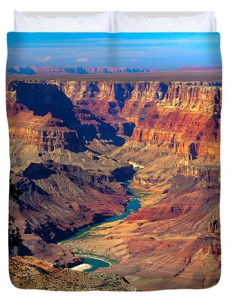 Grand Canyon Sunset Duvet Cover by Robert Bales
