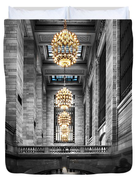 Grand Central Station IIi Ck Duvet Cover by Hannes Cmarits