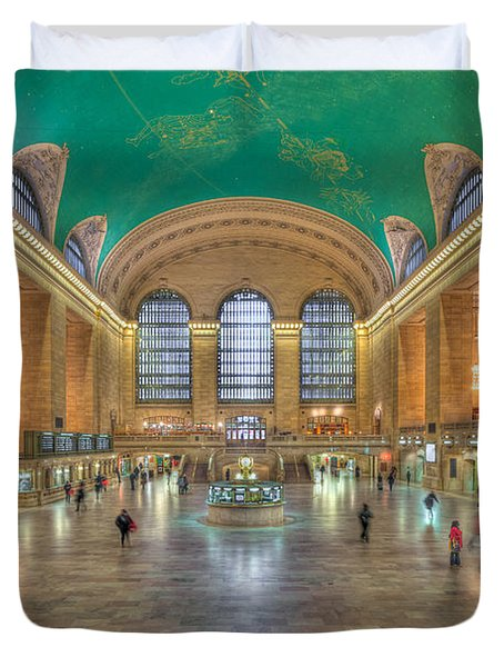 Grand Central Terminal IIi Duvet Cover by Clarence Holmes