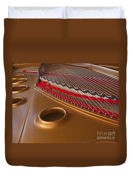 Grand Piano Duvet Cover by Ann Horn