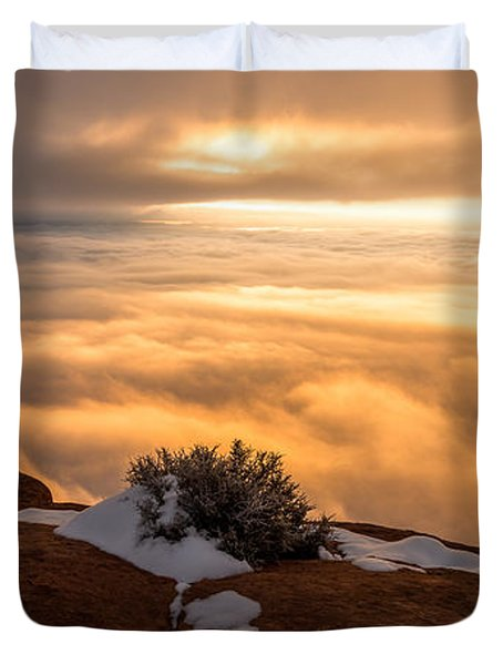 Grand View Glow Duvet Cover by Chad Dutson