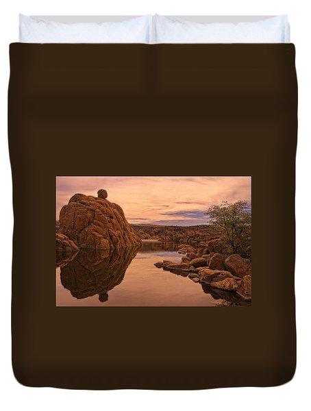 Granite Dells Duvet Cover by Priscilla Burgers