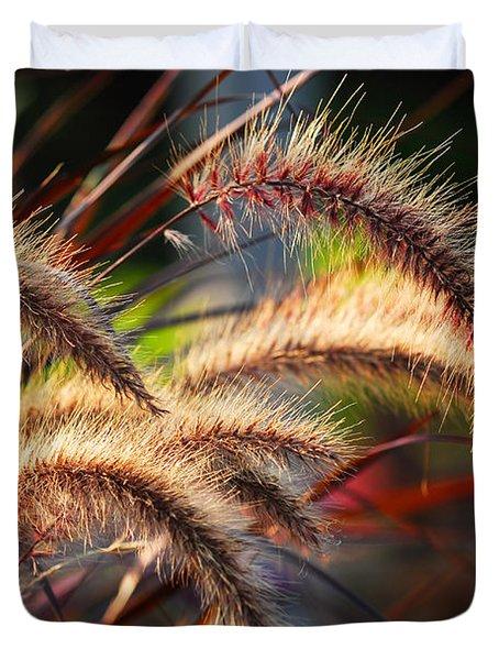 Grass ears Duvet Cover by Elena Elisseeva