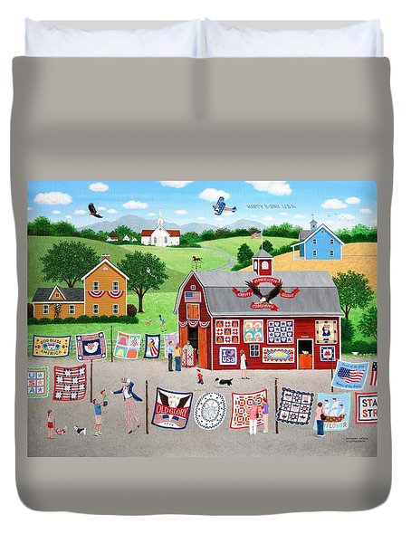 Great American Quilt Factory Duvet Cover by Wilfrido Limvalencia
