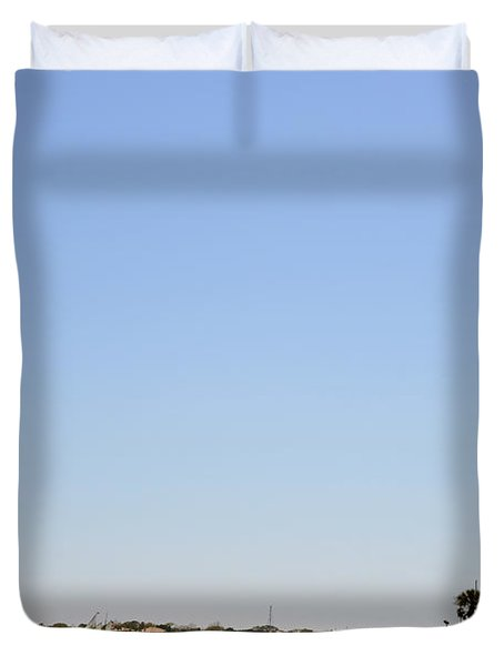 Great Cross - Nombre de Dios - St Augustine Duvet Cover by Christine Till