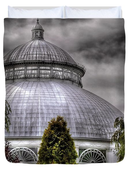 Greenhouse - The Observatory Duvet Cover by Mike Savad