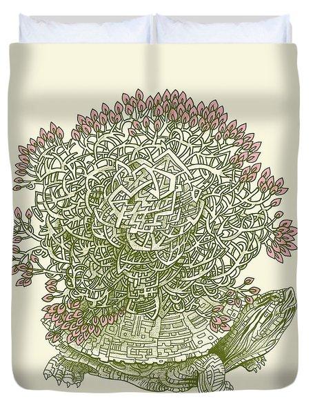 Grow Duvet Cover by Eric Fan