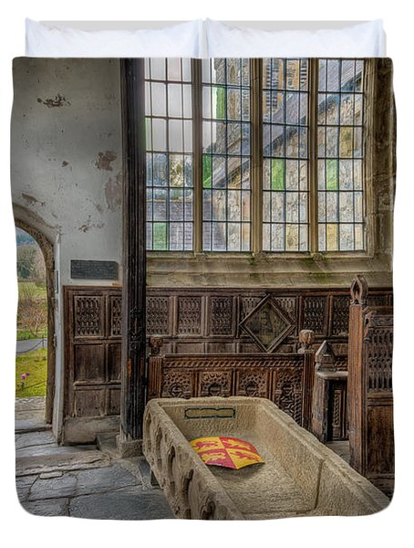 Gwydir Chapel Duvet Cover by Adrian Evans