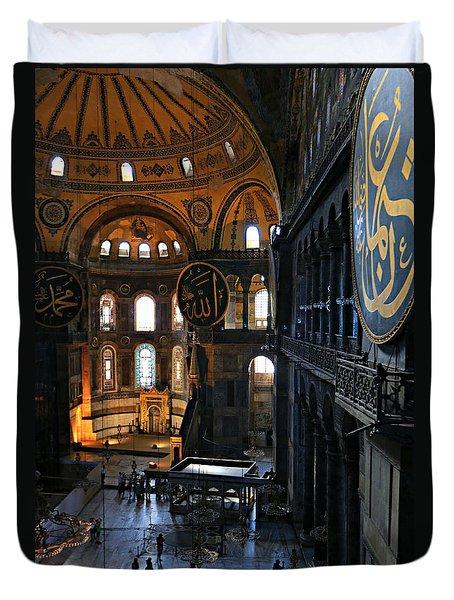 Hagia Sophia Duvet Cover by Stephen Stookey