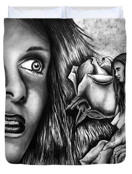 Haleys Apparition Duvet Cover by Peter Piatt