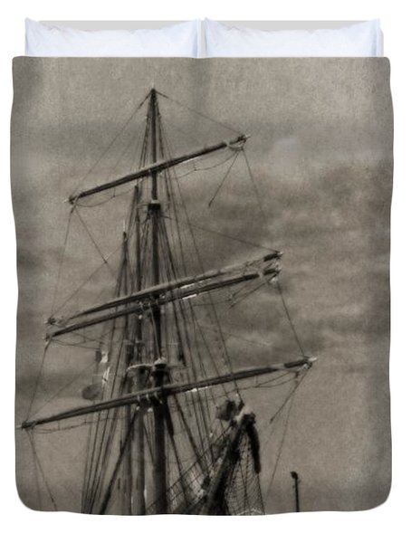 Halifax Harbour Duvet Cover by John Malone