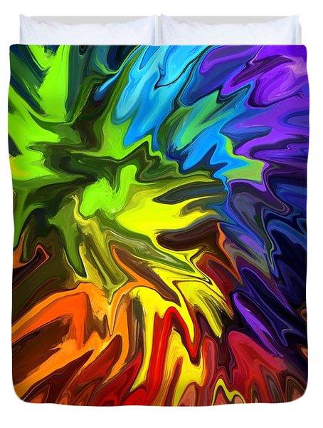 Hallucination Duvet Cover by Chris Butler