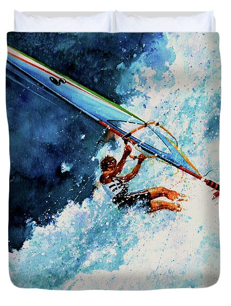 Hang Ten Duvet Cover by Hanne Lore Koehler