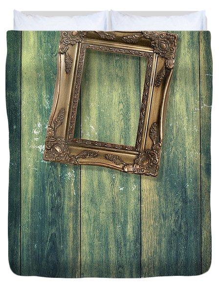 Hanging Frame Duvet Cover by Amanda Elwell