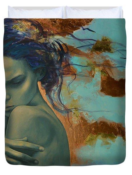 Harboring Dreams Duvet Cover by Dorina  Costras