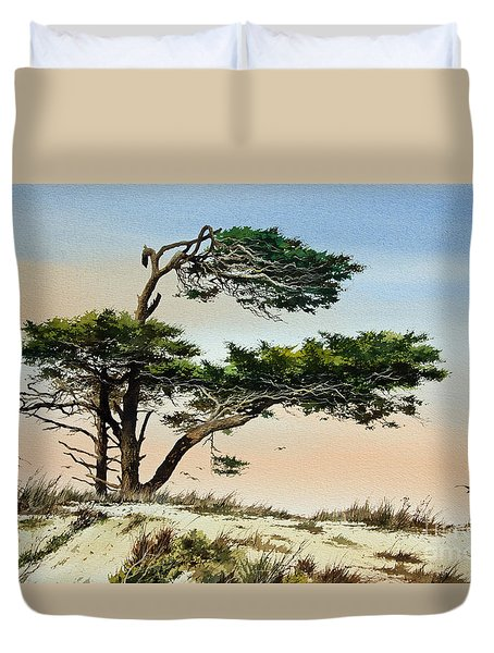 Harmony Of Nature Duvet Cover by James Williamson
