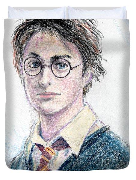 Harry Potter - Daniel Radcliffe Duvet Cover by Yoshiko Mishina