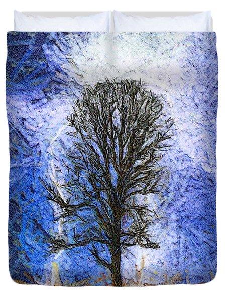 Harvest Storm Duvet Cover by Dan Sproul
