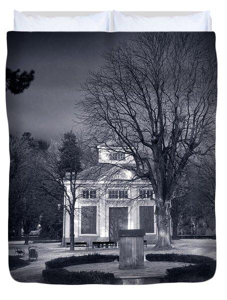 Haunted House Duvet Cover by Michal Bednarek