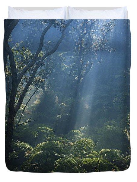 Hawaiian Rainforest Duvet Cover by Gregory G. Dimijian, M.D.