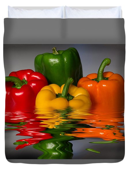 Healthy Reflections Duvet Cover by Shane Bechler
