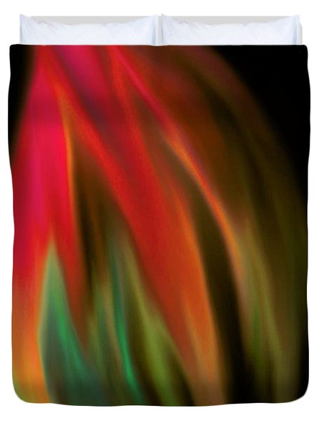 Heat Of The Moment Duvet Cover by Marianna Mills