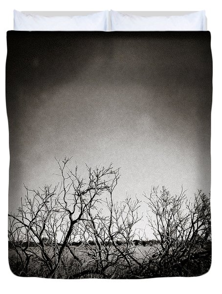 Hedgerow Duvet Cover by Dave Bowman