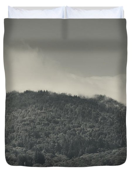 Held Back Duvet Cover by Laurie Search