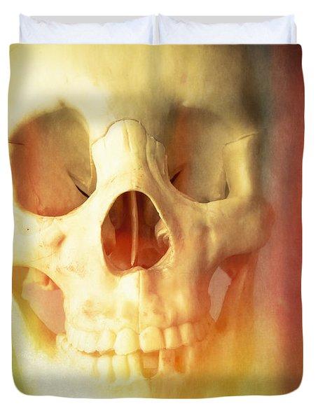 Hell Fire Duvet Cover by Edward Fielding